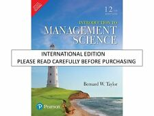 Introduction to Management Science, 12e by Taylor
