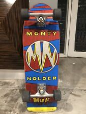 "New listing Vintage  Skateboard , Complete B.B.C.  Monty Nolder ""Mini"""