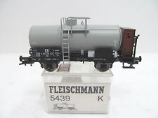 MES-43621Fleischmann 5439 H0 Kesselwagen DR 7-50-09-53 K-NEM sehr guter Zustand