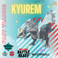 Pokemon Sword & Shield SQUARE SHINY KYUREM 6IV FAST TRADING