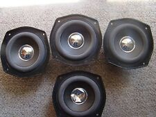 Vintage Sharp Replacement 4 In Woofer Driver 12 Ohm 50 W  Max, one speaker