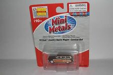 CMW MINI METALS '53 FORD COUNTRY SQUIRE WAGON CARNIVAL RED