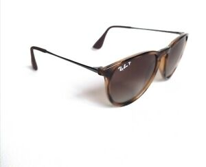 Ray-Ban Erika authentic RB4171 gloss tort genuine polarised  Sunglasses RRP£156