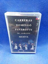 Carreras Domingo Pavarotti In Concert Mehta Tape Cassette - FREE P&P! UK ONLY!