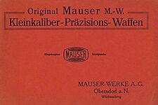 Mauser 1925 Waffen M.-W. Kleinkaliber-Präzi sions-Waffen