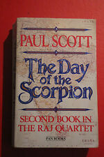 THE DAY OF THE SCORPION: 2nd BOOK RAJ QUARTET by Paul Scott (Paperback, 1988)