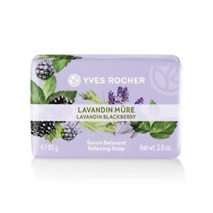 Yves Rocher Relaxing Soap Lavandin BlackBerry 80 g 05764 Mother Family Gift Idea