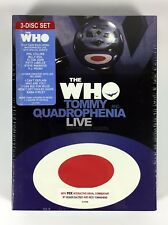 The Who - Tommy and Quadrophenia Live with Friends (DVD, 2005, 3-Disc Set)