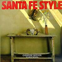Santa Fe Style Hardcover Christine Mather