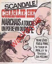 Charlie Hebdo n°274 du 12/02/1976 Marchais pape Paul VI Cabu Papinski