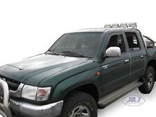 Toyota Hilux 2005-2015 Front wind deflectors visors 4door 2pc set TINTED HEKO