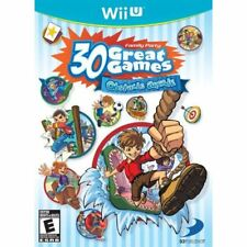 Family Party 30 Great Games: Obstacle Arcade For Wii U With Manual And 1E