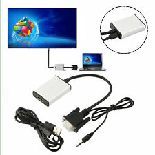 VGA To HDMI Adapter Output 1080P HD And USB Audio HDTV Video Cable Converter RG