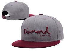 New Fashion Diamond SUPPLY CO Snapback Gray cap style Baseball Hip-Hop Cool Hat