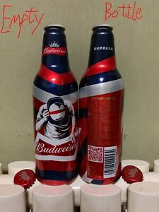 "2018 China Budweiser ""DJ Music"" 355ml Empty Aluminum Bottle"