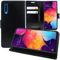 "Etui Coque Housse Portefeuille Rabat Cuir PU Samsung Galaxy A50 SM-A505F 6.4"""