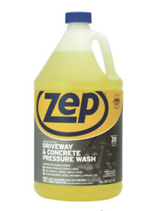 ZEP Driveway and Concrete Pressure Wash Cleaner Concentrate, 128 Fl. Oz.