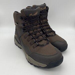 DANNER Vital Trail US Men 10 EE WIDE Cofee Brown Waterproof Hiking Hunt Boots