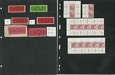 Germany Stamp Collection, DDR Specialized Lot, Blocks, Covers, 10 Pages, DKZ