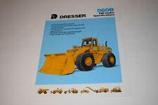 1988 Dresser Model 560b Pay Loader Specifications Sales Brochure