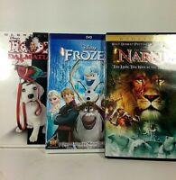 DVD lot of 3 ~ Disney Frozen, Narnia & 102 Dalmatians