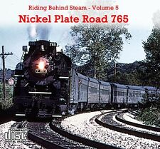 Train Sounds On CD: Riding Behind Nickel Plate Road 765 in 1984