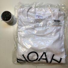 NOAH NYC Tuff Gong Core Logo TEE WHITE Medium M BRAND NEW