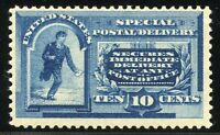 UNITED STATES SPECIAL DELIVERY  SCOTT#E2   MINT LIGHT  HINGED F/VF
