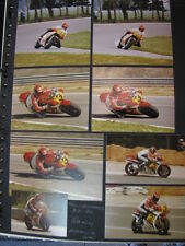 Photo Collage Suzuki/Honda/Yamaha/Cagiva 500 1981/88 Randy Mamola (USA) 39x
