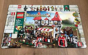 LEGO 10223 Kingdoms Ritterturnier Leerkarton/Box/Ovp NEU