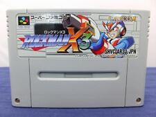 Super Famicom Rockman x3 Megaman Japan SFC F/S