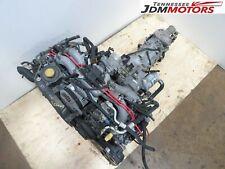 Jdm Subaru Impreza Legacy Engine W/T Manual Transmission Jdm Ej20 *Motor Seized*