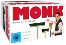 Monk - Gesamtbox / Die komplette Serie Staffel 1-8 # 32-DVD-BOX-NEU