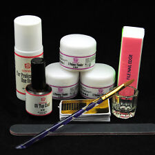 Coscelia Nail Art Tool Kit Set Crystal Powder Acrylic Liquid Dappen Dish Brush