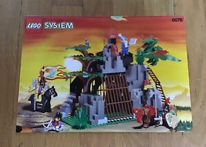 Lego Set 6076 Dark Dragon's Den (Castle: Dragon Knights)