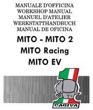 CD MANUALE OFFICINA e AGGIORNAMENTI CAGIVA MITO - RACING - MITO 2- EV  90-95 prm