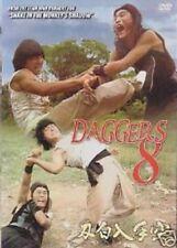 Daggers 8 - Hong Kong RARE Kung Fu Martial Arts Action movie - NEW DVD