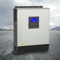 Inversor de onda pura híbrido 3KVA 2400W Controlador solar cargdor PWM 50A 24V