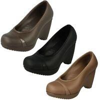 Ladies Crocs Wedge Heel Shoes 'Lena'