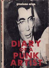 TRÈS RARE! LETTRE AUTOGRAPHE! Journal intime d'un punk artiste. Graziano Origa.