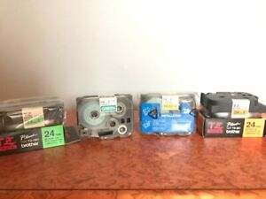 Schriftbandkassette Brother TZ Tape für PT-520 PT-540 Gebraucht und Neu