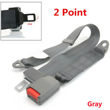 Gray ​2Point High Quality Universal Adjustable Car Seat Safety Belt Car Seatbelt