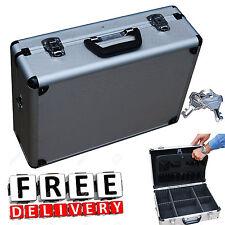 Aluminium Briefcase Hard Rugged Metal Lock Carrying Case Camera Bag Protective