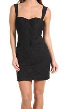 Twenty8Twelve By Sienna Miller Pleated Dress 6 Black Cotton Silk Blend Black NEW