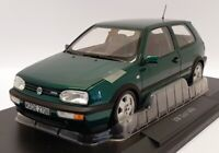 Norev 1/18 Scale Model 188437 - 1996 VW Volkswagen Golf VR6 - Green Met