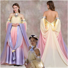 Star Wars Queen Padme Amidala Costume Cosplay Dress Women's Outfit