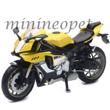 NEW RAY 57803 B 2015 15 YAMAHA YZF R1 BIKE MOTORCYCLE 1/12 YELLOW