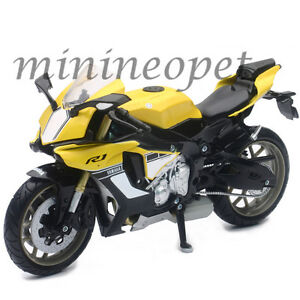 NEW RAY 57803 B 2015 15 YAMAHA YZF R1 BIKE MOTORCYCLE 1/12 YELLOW