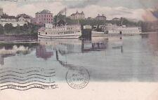 * CANADA - Nanaimo - Water Front, Steamships 1908