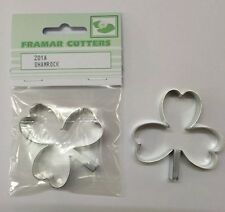 Cake Decorating Metal 201A Shamrock - Large by Framar Cutters